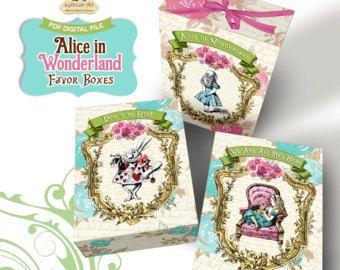 Alice in Wonderland Candy Bar Wrapper  Alice in Wonderland