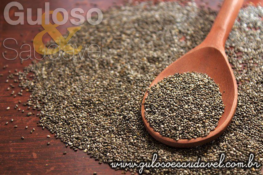 Vamos conhecer mais benefícios desta sementinha? Chia, Conheça os Benefícios para a Saúde!  Artigo aqui: http://www.gulosoesaudavel.com.br/2013/05/06/chia-conheca-beneficios-saude/