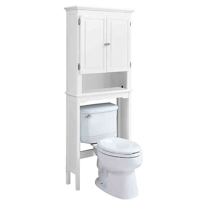 Wakefield No Tools Over The Toilet Space Saver With Images Bath Furniture Space Savers Bathroom Themes