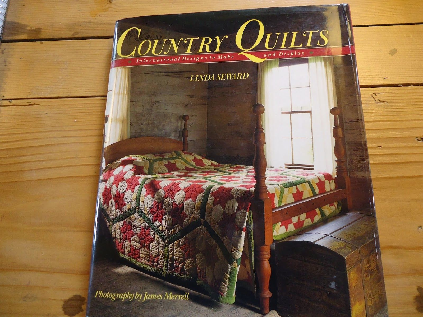 Patricia quilts at home