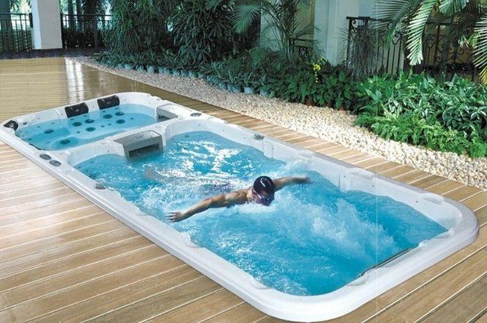 Shropshire 5 8 Metre Twin Zone Swim Spa Garden Hot Tubs Endless Swimming Pool Swim Spa Indoor Swim Spa