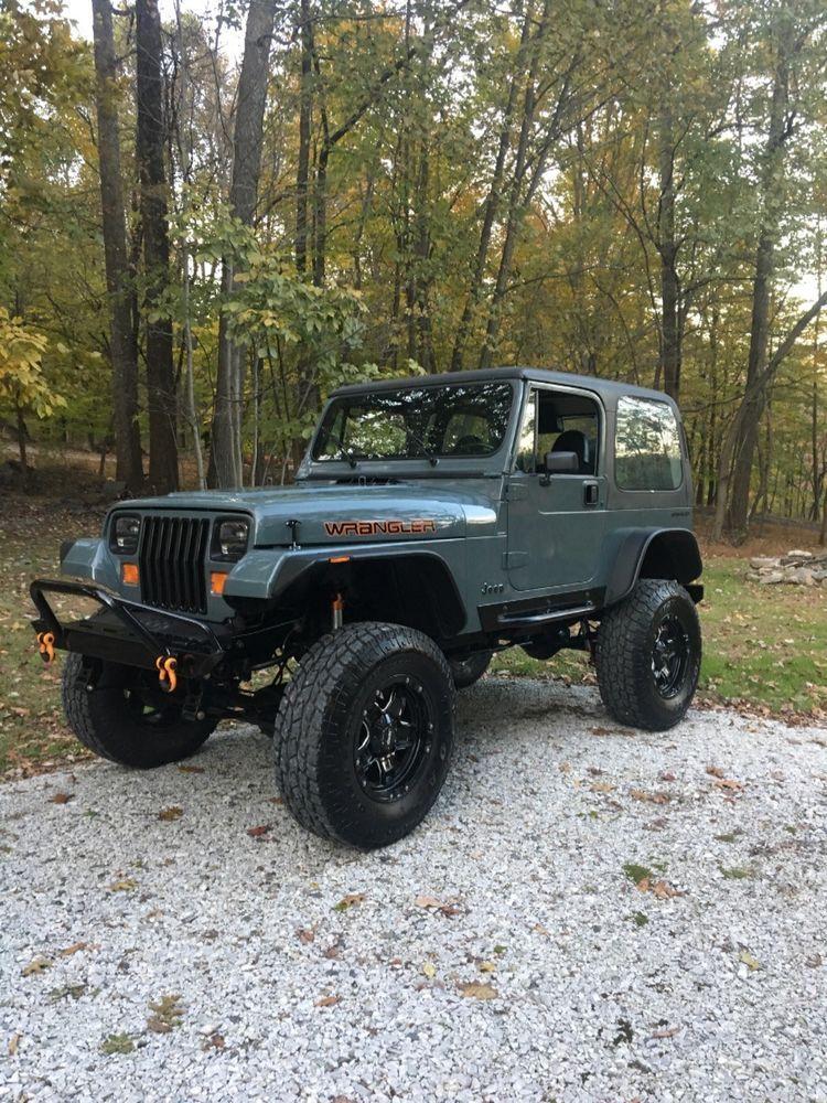 1990 jeep wrangler for sale ebay