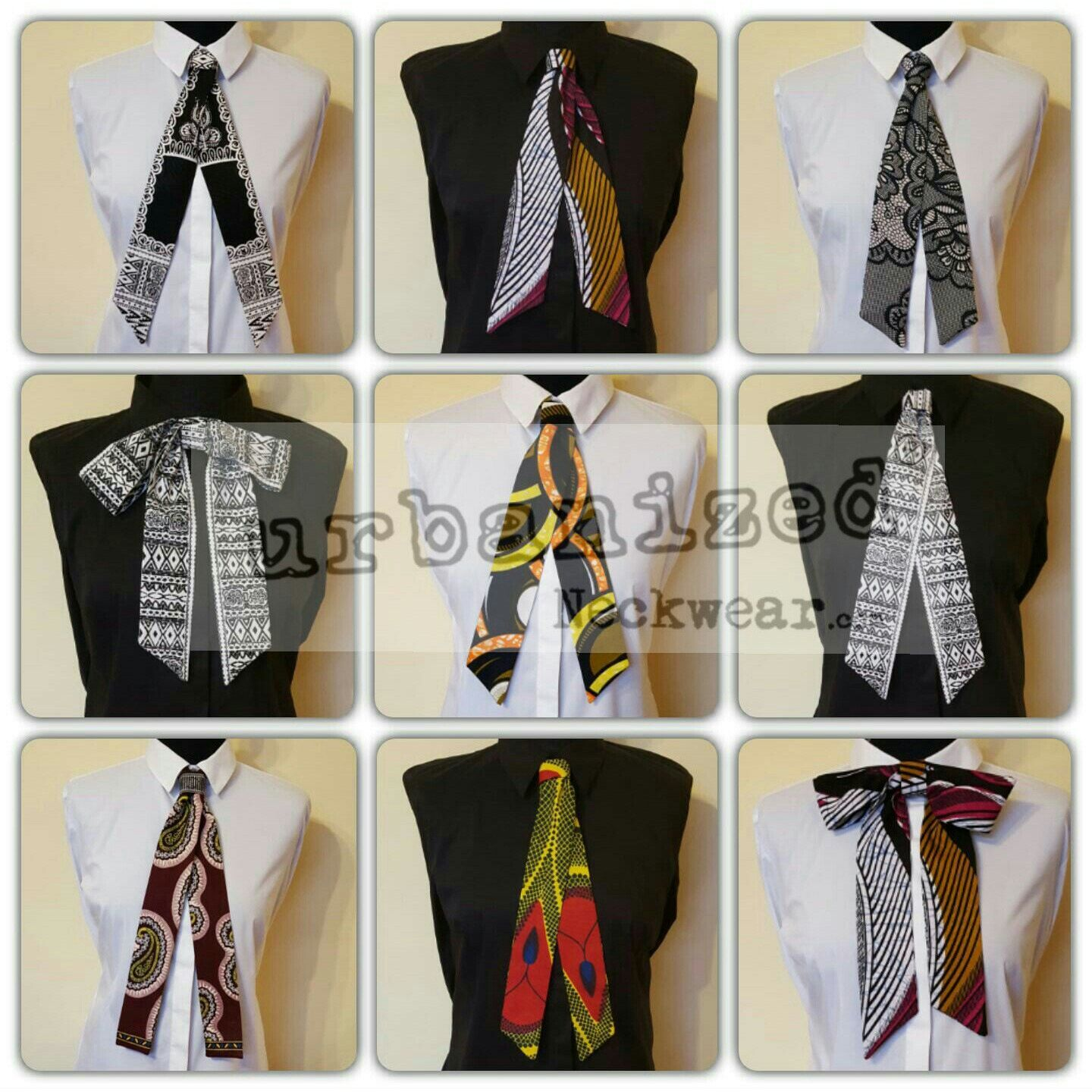 Brand NEW Neckwear Collection for 2017!  Step out in unique confidence in these new versatile cravat neckties. Transform your plain shirt or polo neck into a chic eye-catching timeless outfit and watch those heads turn ❤  www.urbanizedneckwear.com