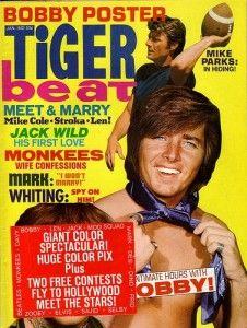 Tiger Beat, Flip Magazine and Bobby Sherman!