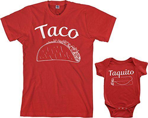 Threadrock Taco & Taquito Infant Bodysuit & Men's TShirt