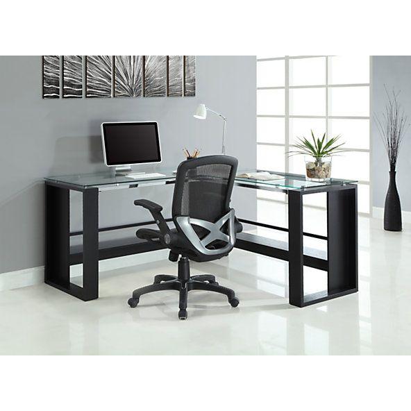 Whalen Jasper L Desk 30 H X 60 W D Espresso By Office Depot