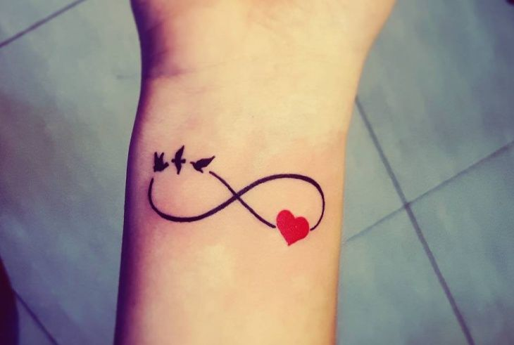 Small Heart Infinity Tattoo Tattoos Infinity Tattoo Designs