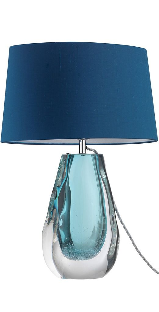 Table Lamps Designer Modern Blue Art Gl Lamp So Beautiful One Of Over 3 000 Limited Production Interior Design Inspirations Inc Furniture