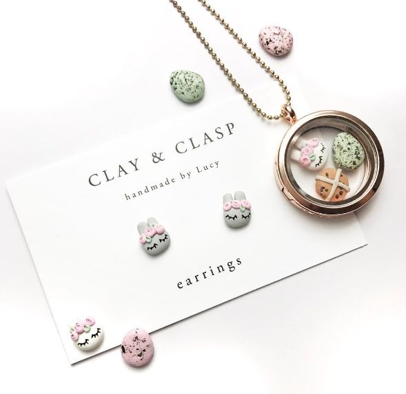 Baby and kids easter gift guide clay and clasp easter jewellery this years baby and kids easter gift guide features over 40 non chocolate gift ideas from craft to clothes accessories books toys dcor and more negle Gallery