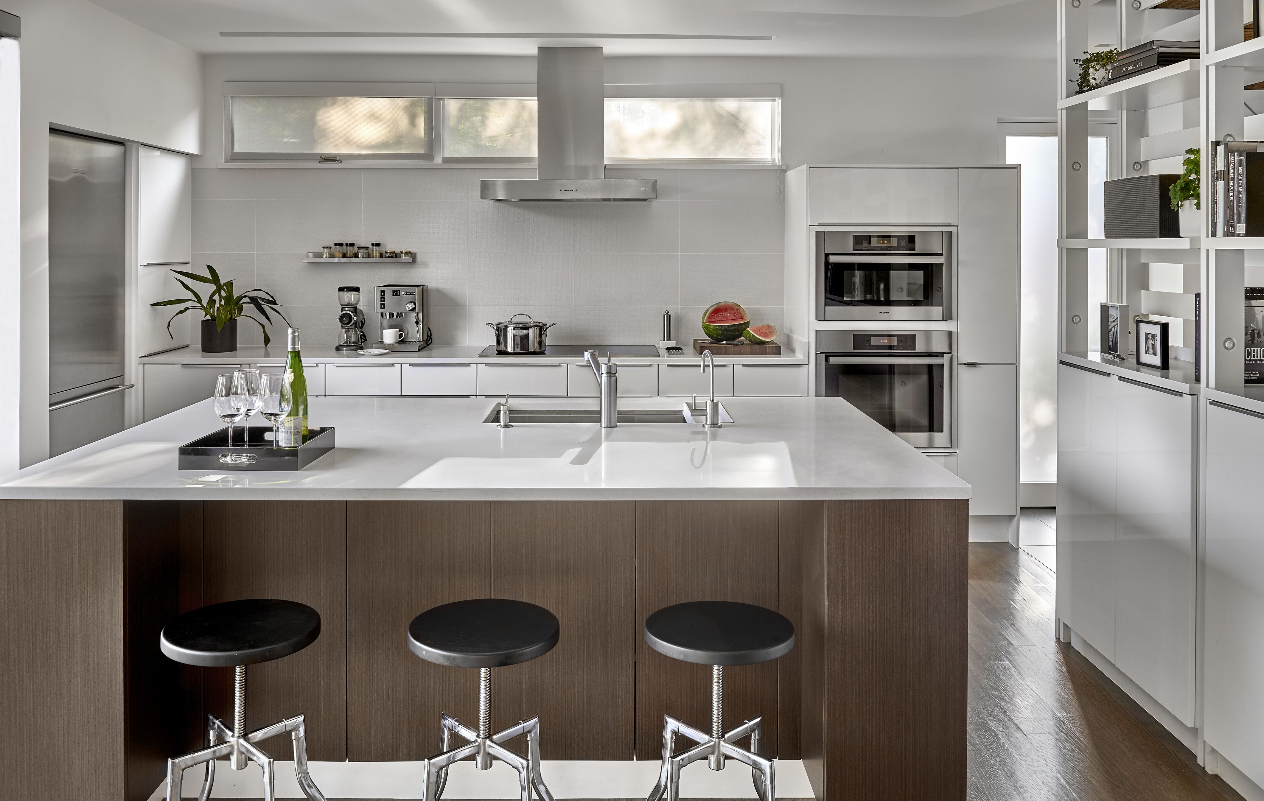 The Gregory House Gregory House Open Kitchen Cabinets Open Cabinets