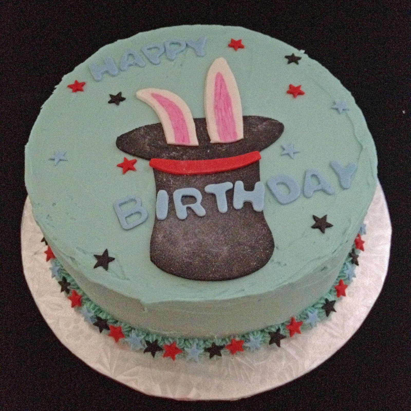 Image result for rabbit coming out of a hat cake Cakes Pinterest