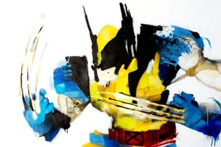 Anthony Lister Superhero Art Superhero Art Wolverine Artwork Art