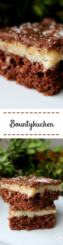 rezept f r bountykuchen rezept blechkuchen rechteckige form pinterest kuchen backen. Black Bedroom Furniture Sets. Home Design Ideas