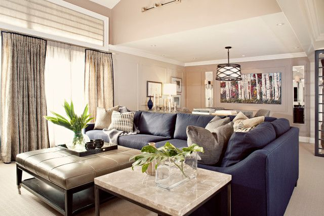 Navy Leather Sofa Decorating Ideas Google Search Living Room