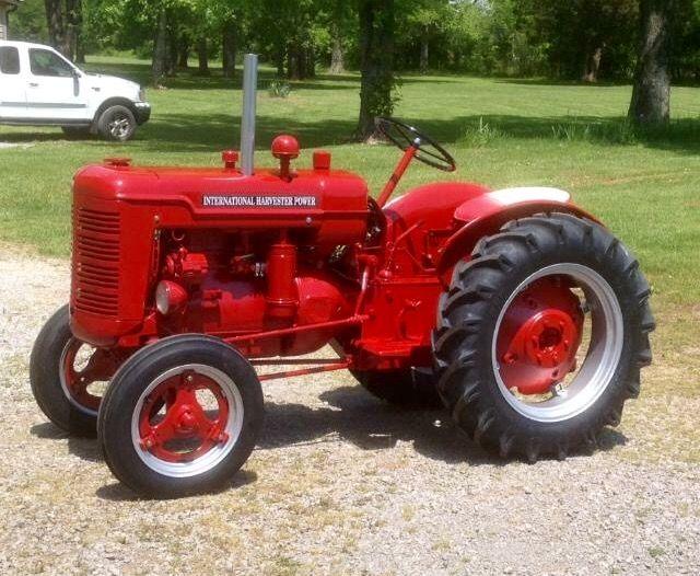 Ih Shop Mule Tractors Antique Tractors Classic Tractor