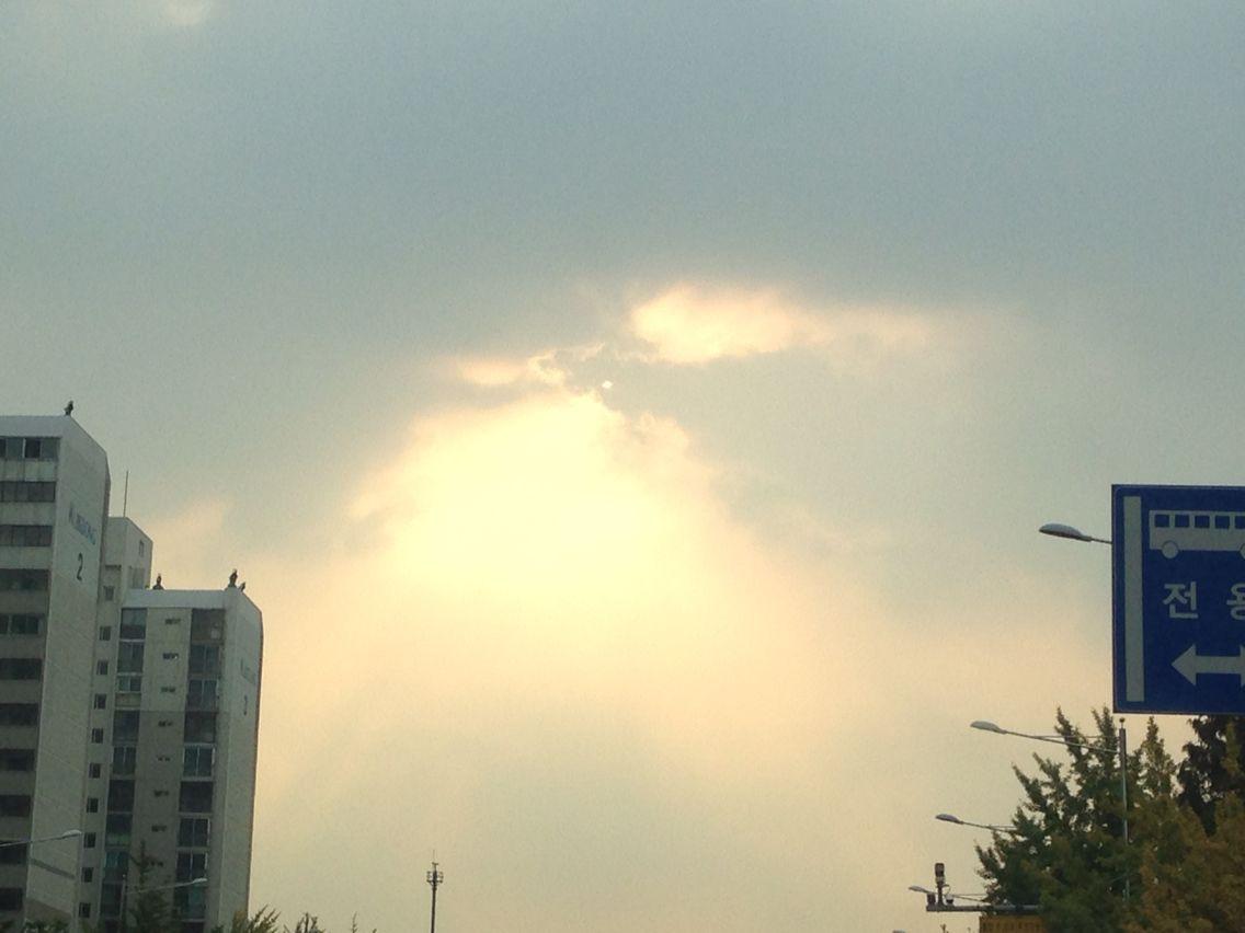 2014년 10월의 하늘...