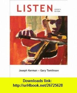 Listen 7th edition 9780312593469 joseph kerman gary tomlinson listen 7th edition 9780312593469 joseph kerman gary tomlinson isbn 10 fandeluxe Images