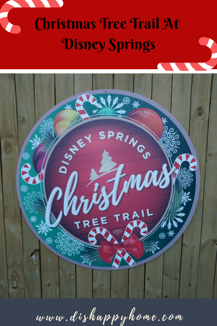 Christmas Tree Trail at Disney Springs 'Dis' Happy Home