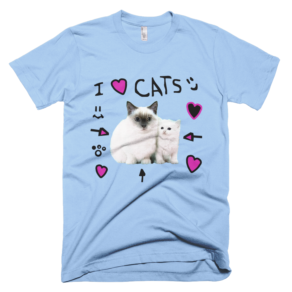 Denisdaily Com I Love Cats Shirt