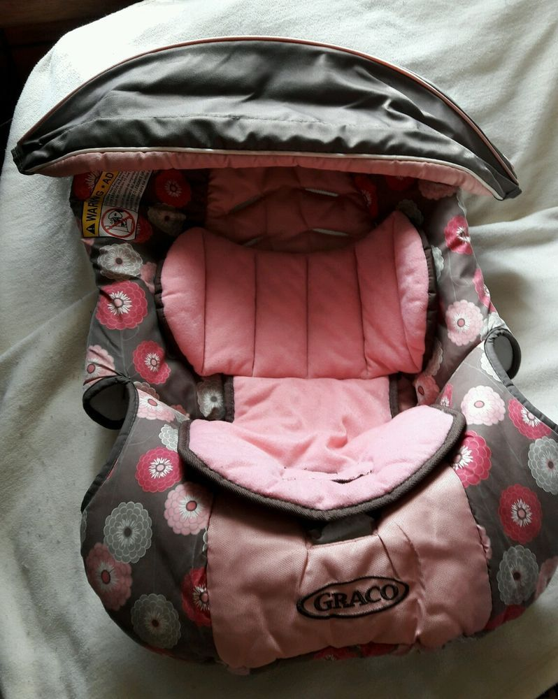 Uncategorized fisher price comfort curve bouncer new free shipping ebay - Graco Snugride 30 Baby Car Seat Replacement Cushion Cover Canopy Pink Gray