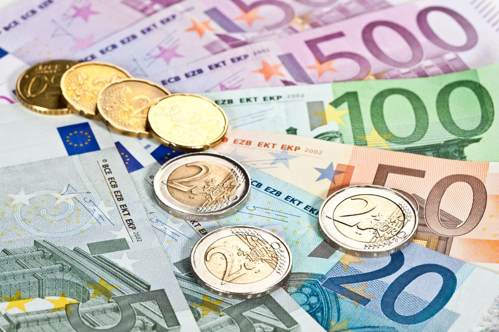 Oh, did we say dollars? We meant euros Euro, Money