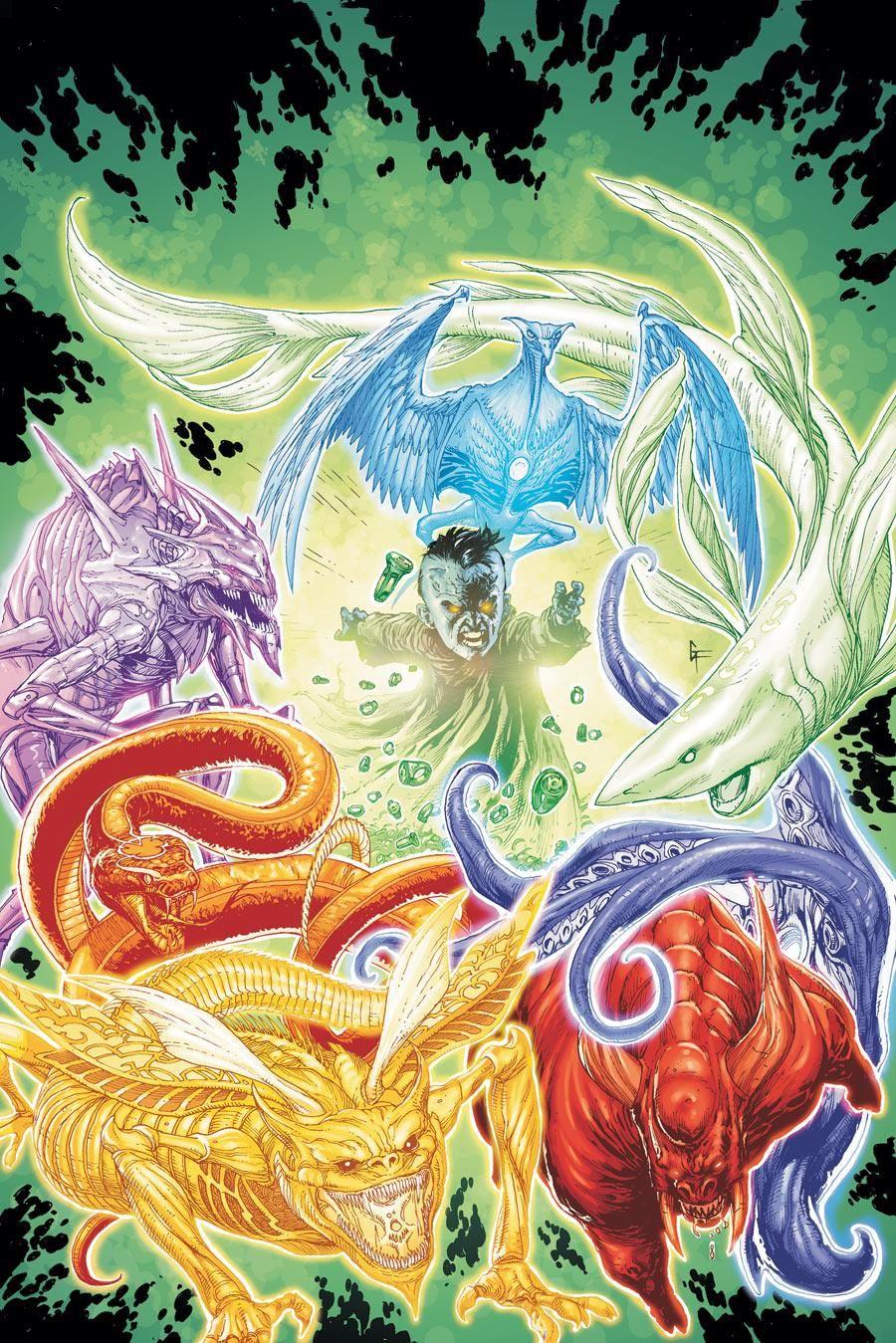 The Entities, Green Lantern Corp
