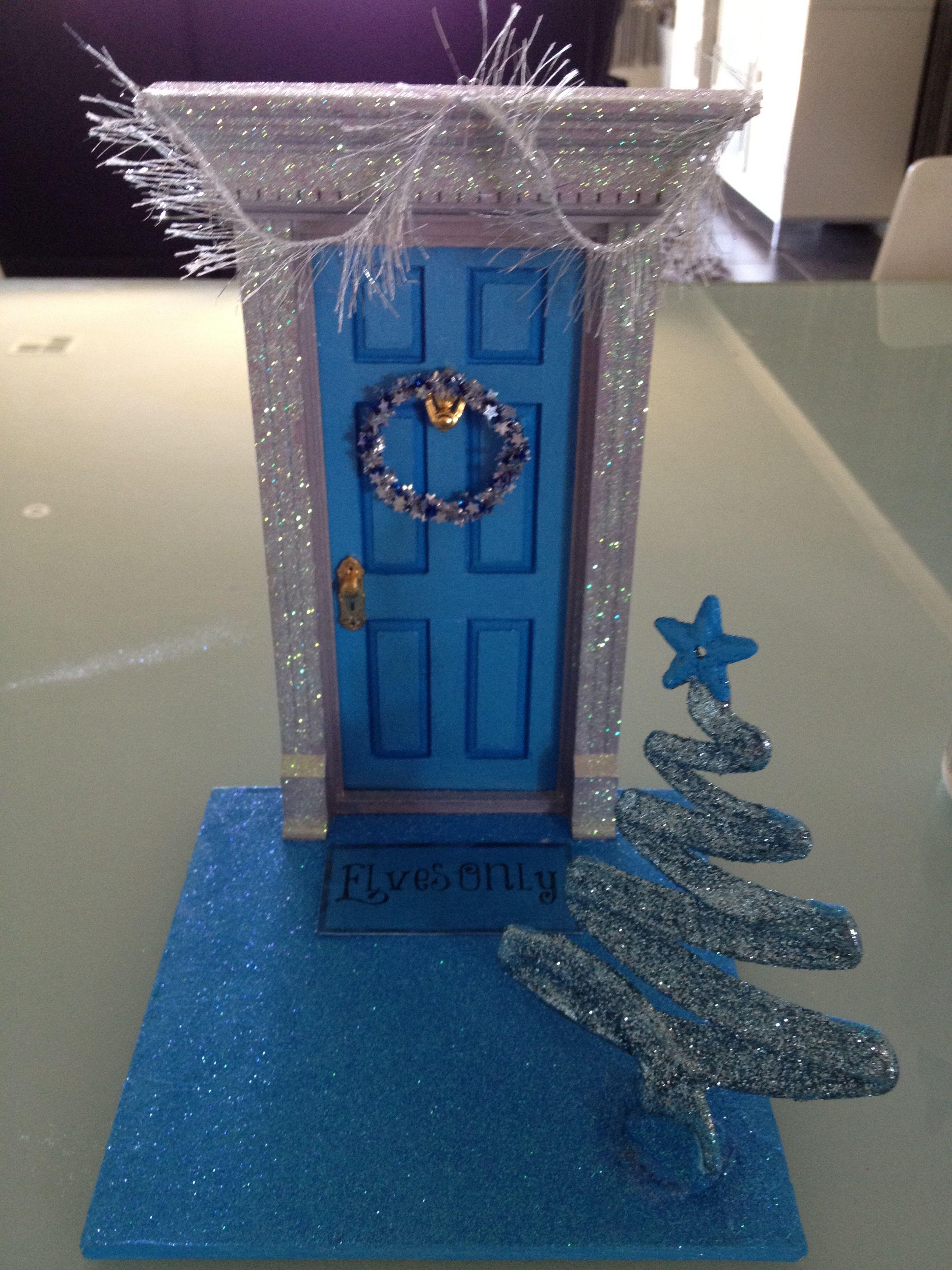 2013 Elf Door Elf On A Shelf Elf Door Elf Elf On The