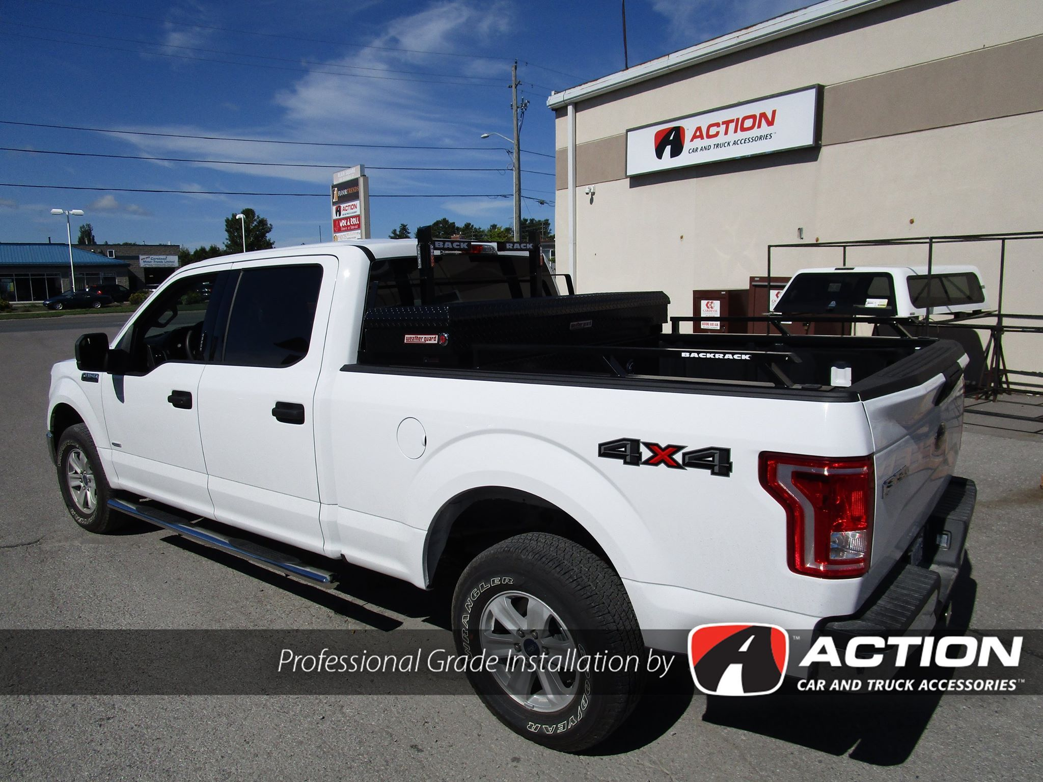 Installed on this F150: - BackRack - Side Rails - Rear ...
