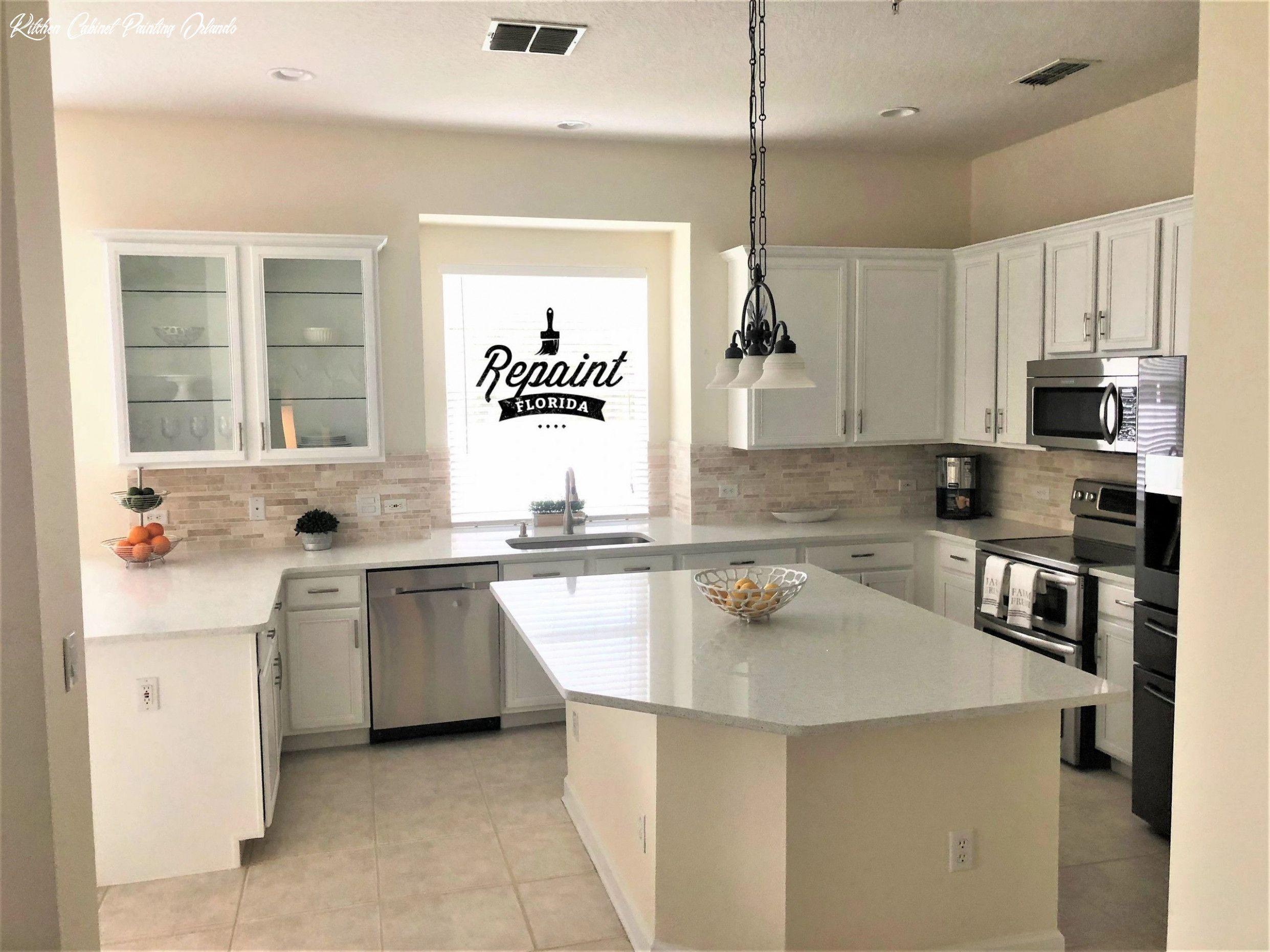 Kitchen Cabinet Painting Orlando In 2020 Küchenschrank Umgestalten Küchenschränke Malen Küchenschränke Streichen