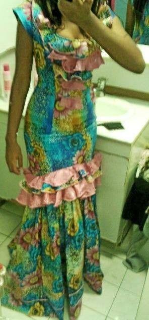 Modele de robe de soiree en pagne