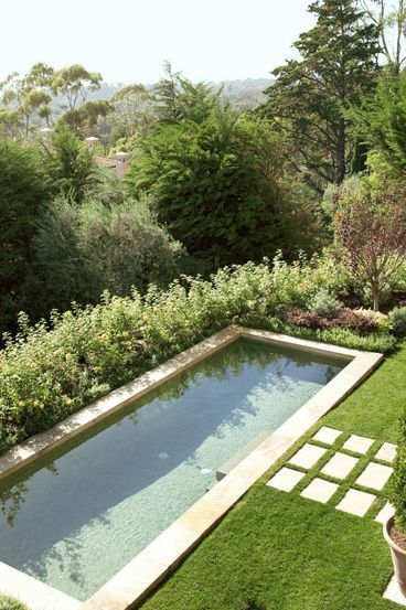 40 Swimming Pools You'll Want to Lounge In ASAP is part of Pool landscaping, Backyard pool, Swimming pool landscaping, Backyard pool designs, California pools, Natural swimming pools - We're ready to float the day away
