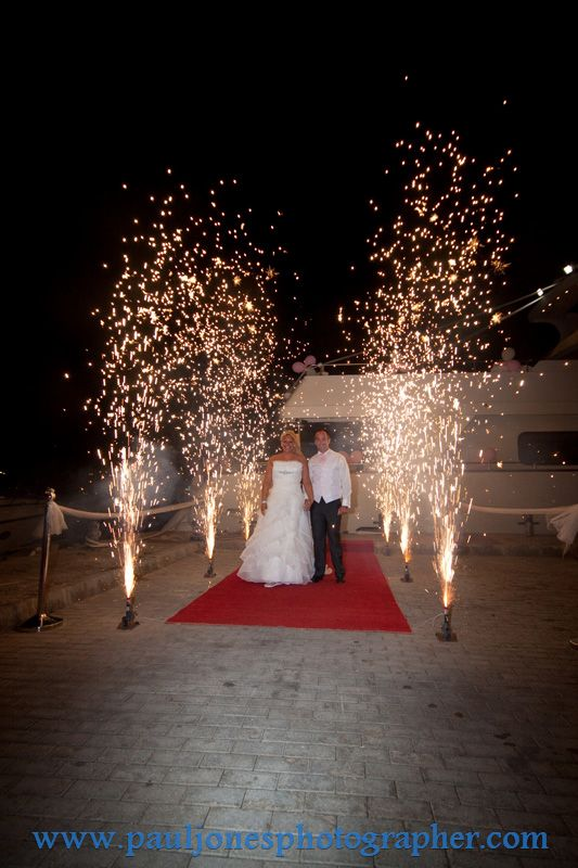Cyprus Yacht Packages With Fireworks