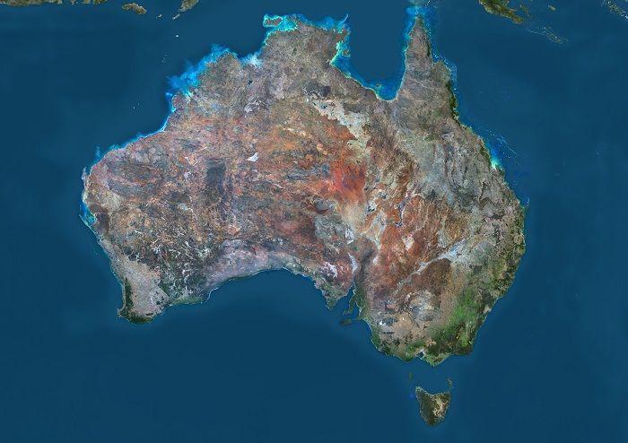 What We Know About Australia Thanks To Supermassive Black Holes Australia Map Australia Satellite Maps