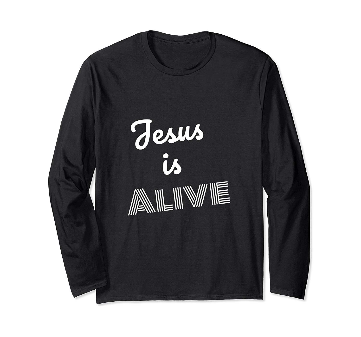 Photo of Easter Jesus is Alive Shirt Faith Christian T-Shirt