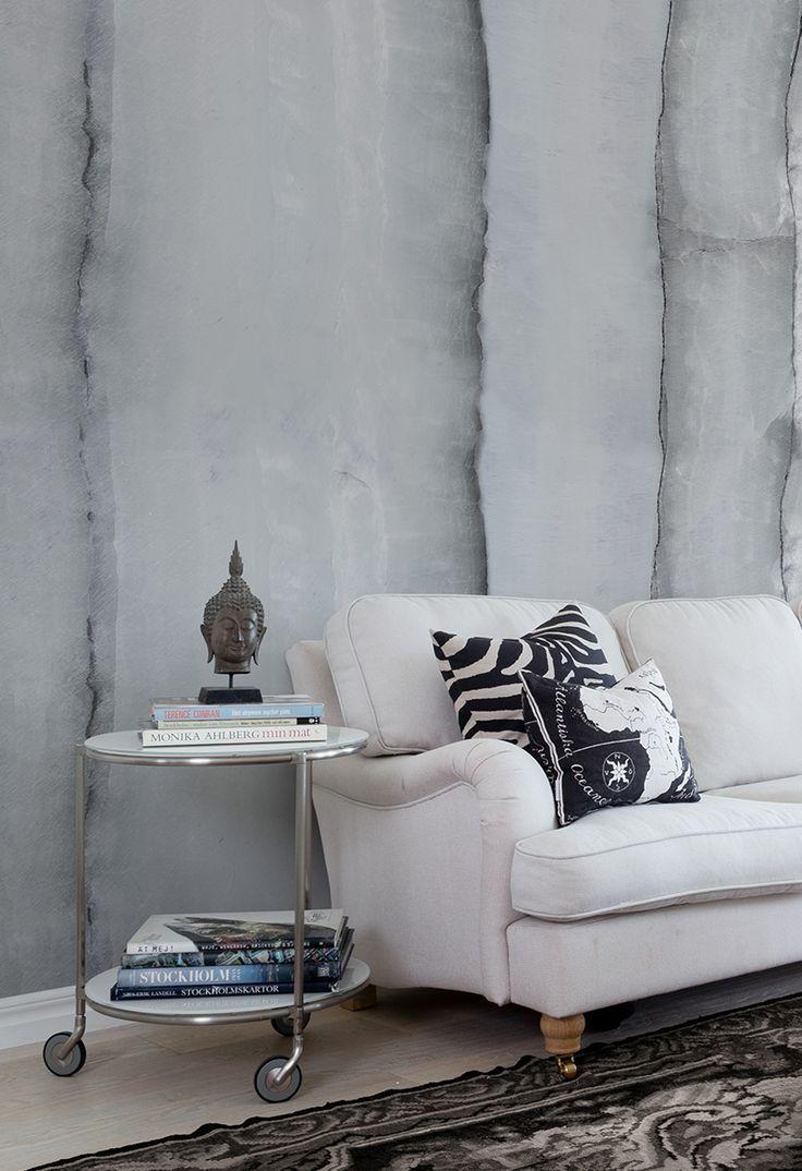 Kinderzimmer wanddekor agate sterling in   monochrome wohnen  pinterest  wall