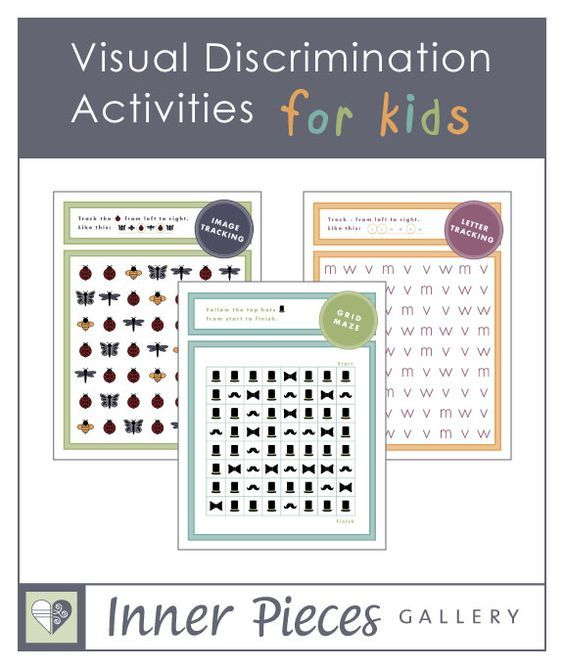 Pin By Edna Pontieller On Occupational Therapy Visual Discrimination Activities Visual Discrimination Visual Perceptual Activities