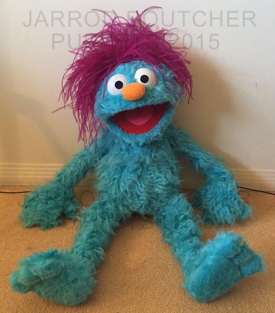 details about cute little monster professional muppet puppet cute little monster professional muppet puppet toys hobbies preschool toys pretend play puppets