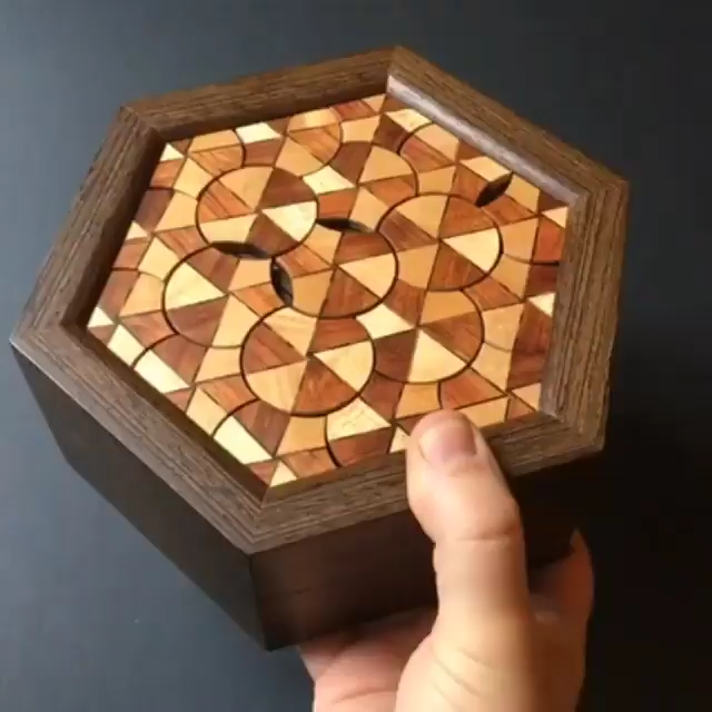Woodworking Secret Box