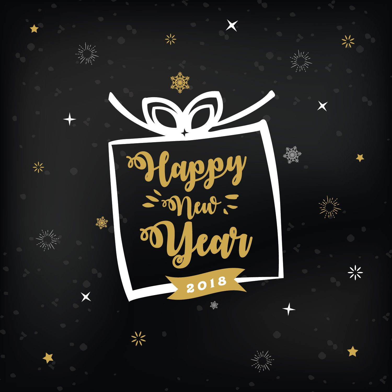 4 Free New Year Greeting Card Templates | Greeting card ...