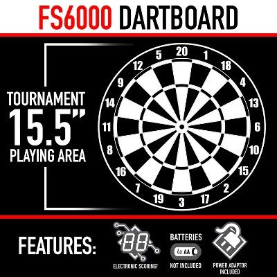 Franklin Sports Fs6000 Electronic Dartboard Products