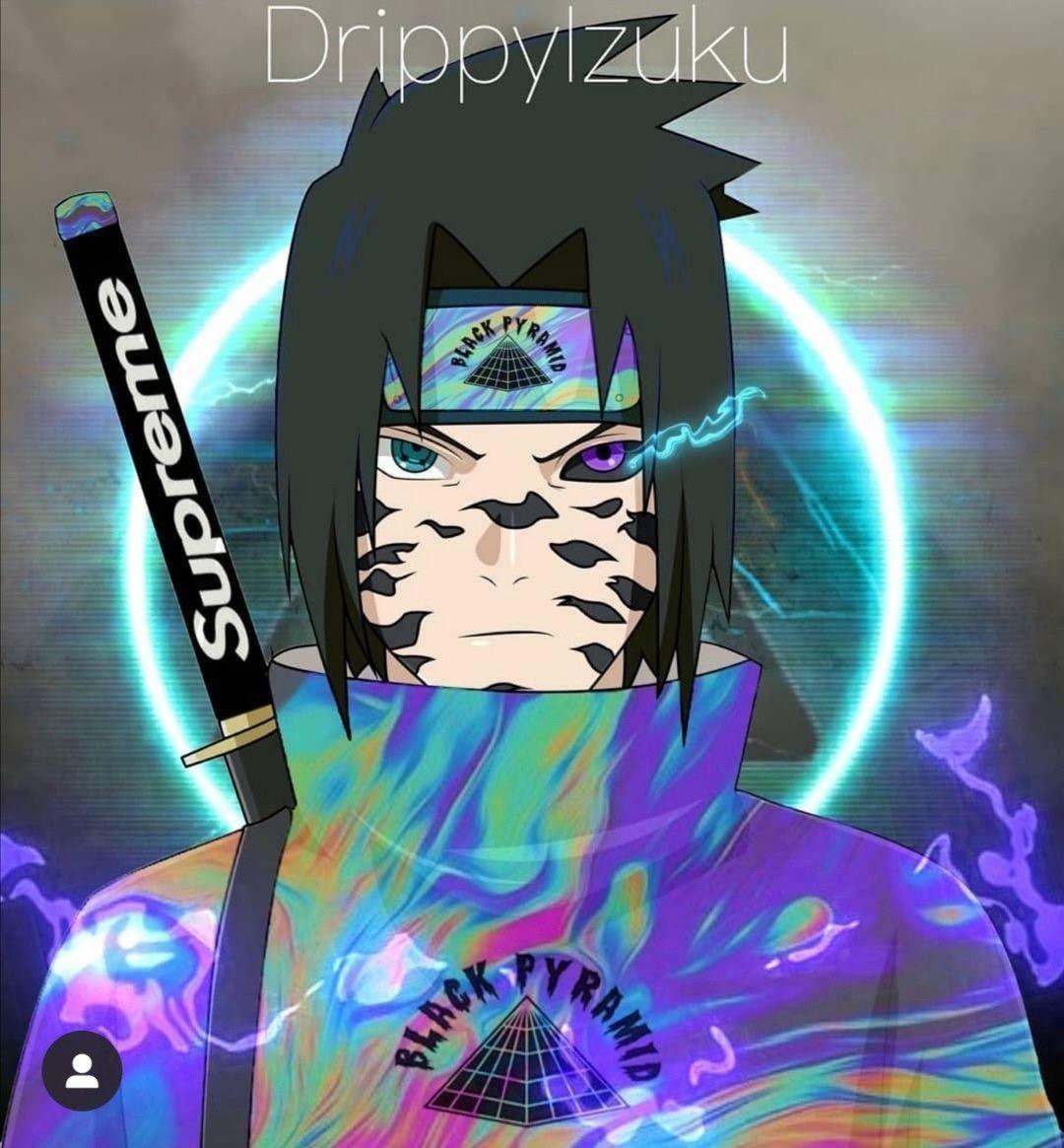 Wallpaper Sasuke Devil