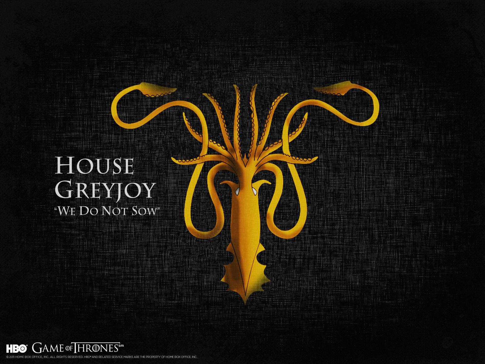House Greyjoy Fogo E Gelo As Cronicas De Gelo E Fogo Game Of