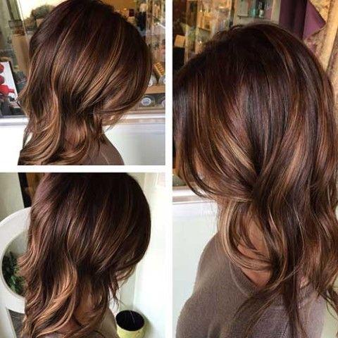 Braune haare tonen welche farbe