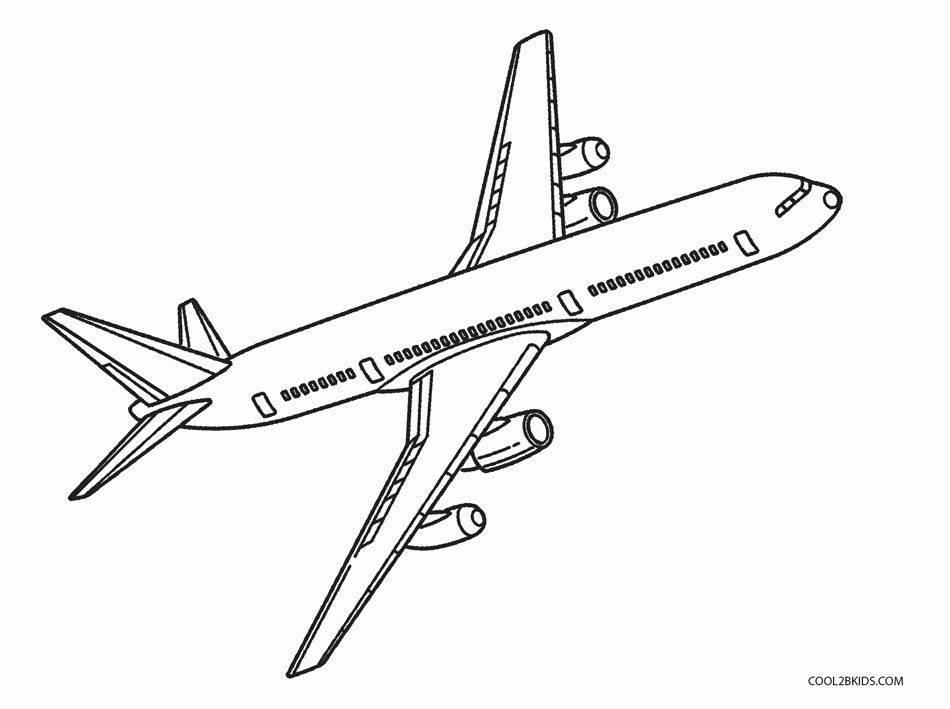 Free Printable Airplane Coloring Pages For Kids Airplane Coloring Pages Coloring Pages Airplane Sketch