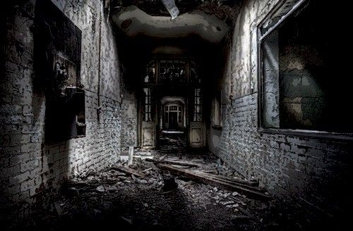 7) You enter a dark room and are surrounded by the thick ...