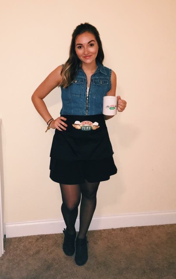 DIY Rachel Green Central Perk costume rachelgreen friends