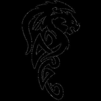 Tribal Tattoo Tiger Wave Dragon Tattoo Stencil Celtic Dragon Tattoos Dragon Tattoo Vector