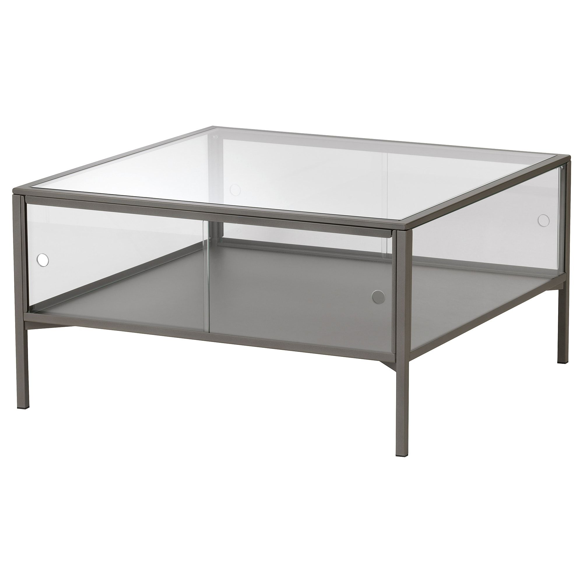 Sammanhang Coffee Table Gray Glass In 2019 Coffee Table