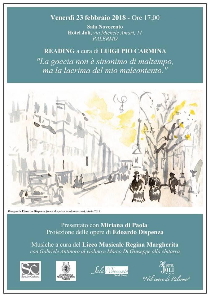 """Reading poetico """"La goccia non è sinonimo di maltempo, ma la lacrima ..."""