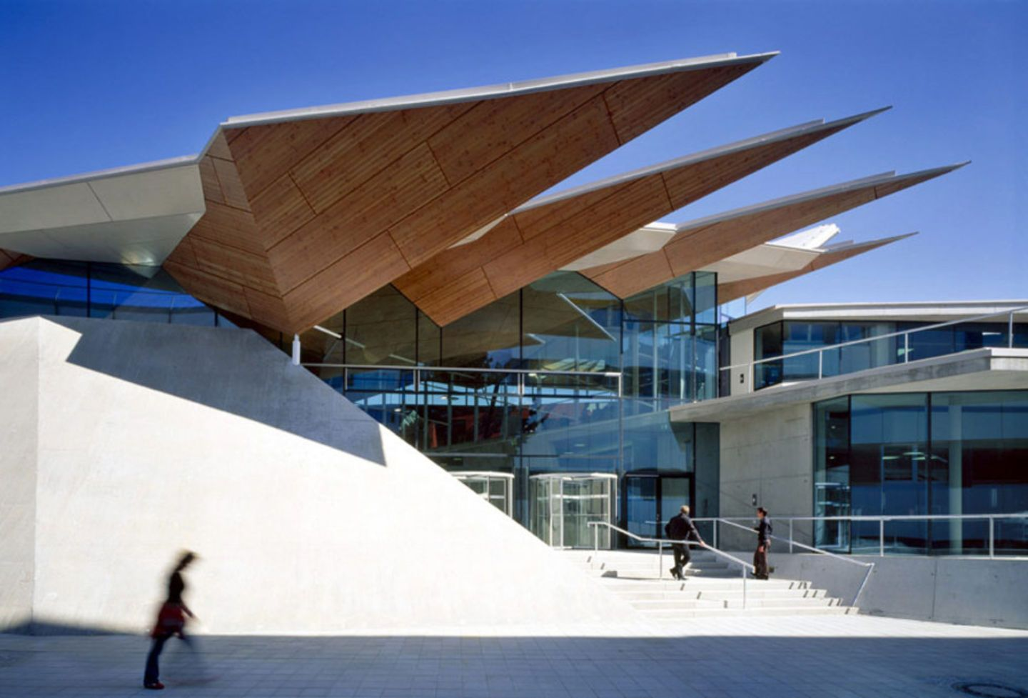 Folded Plate Structure Google Search Architecture Facade Arch
